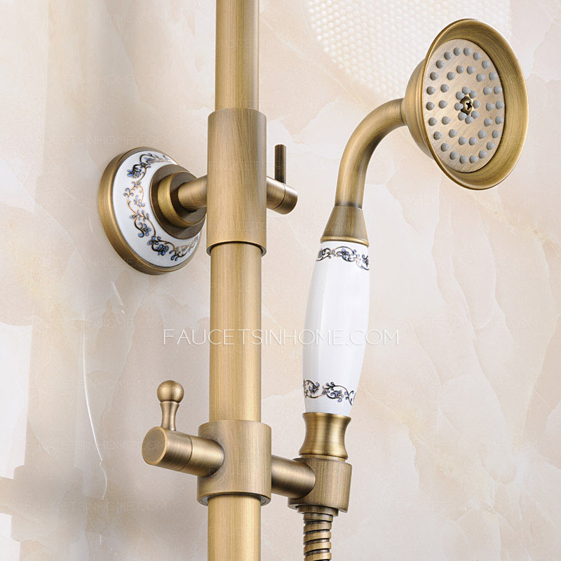 Antique Bronze Shower Faucet System With Upgraded Quality