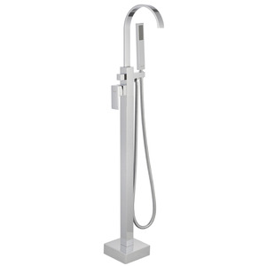 Floorstanding Brass Multi-functional Bathtub Shower Facuet