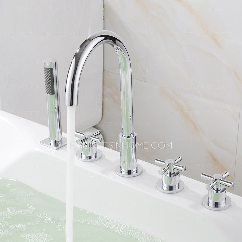 Hot And Cold Water Adjustment Water-saving Brass Fixtures