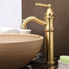 High-quality Polished Brass Ceramic Valve Gold Faucet Bathroom
