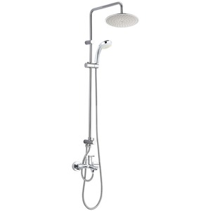 Modern ABS Copper Chrome Handhold Shower Faucets