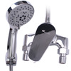 Modern Silver Chrome Brass Single Handle Shower Faucets