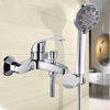 Classical ABS Single Handle Brass Chrome Shower Faucets