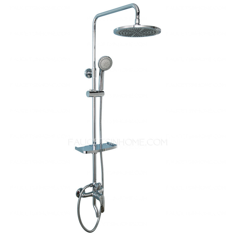 Best Contemporary Electroplated Brass Stainless Shower Faucets