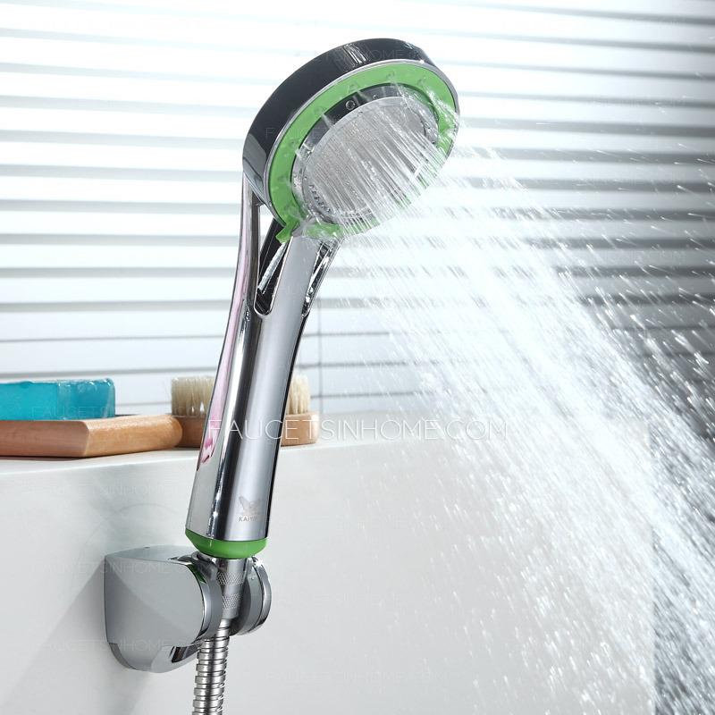Modern Brass Chrome Wall Mounted Single Handle Shower Faucet