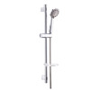 Simple Wall Mounted Single Handle Stainless Steel Shower Faucet