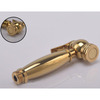 Modern Brass Wall Mounted Electroplated Bidet Faucet for Women Cleaning