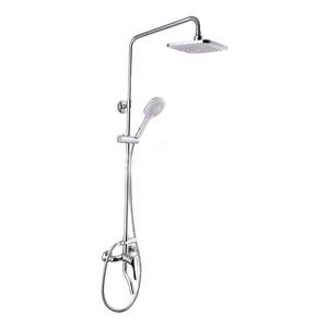 Modern Chrome Brass Water Saving Single Bathroom Faucet