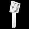 Modern Simple Square Brass ABS Bathroom Shower Faucet