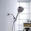 Simple ABS Wall Mounted Bathroom Shower Head