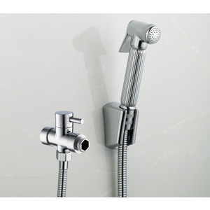 Best Brass bathroom toilet Portable Spray with Shower Holder handheld bidet