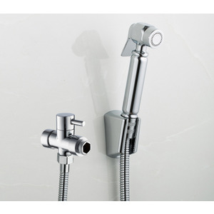 Modern Brass Handled Portable Bidet Faucets for Bathroom