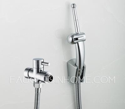 Unique ABS Brass Handle Portable  Wall Mounted Bidet Faucet