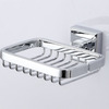 Wholesale Wall Mounted Silver Chrome Bathroom Soap Dishes