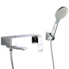 American Standard Chrome Brass Wall Mount Bathtub Faucet With Hand Held Shower