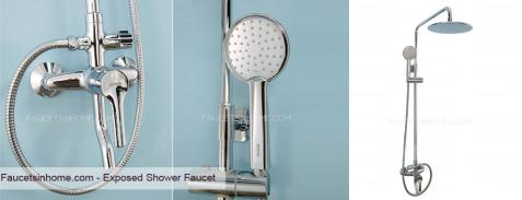 Exposed Shower Faucet